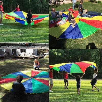 Sonyabecca Play Tents Kids Game 210T Play Parachute 6/' with 9 Handles IndoorOut