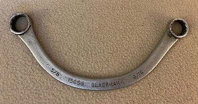 Blackhawk HALF MOON BOXED END 15659 WRENCH 5/8 - 9/16  MADE IN USA