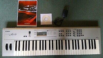 Yamaha S03 Synthesizer 61 key