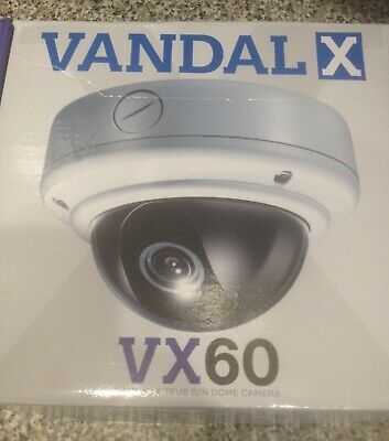 Clinton Electronics Vandal X CE-VX60  Dome Camera