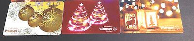 Canada Walmart Gift Card Lot Of 3 Pcs. Collectibles Rechargeable X3