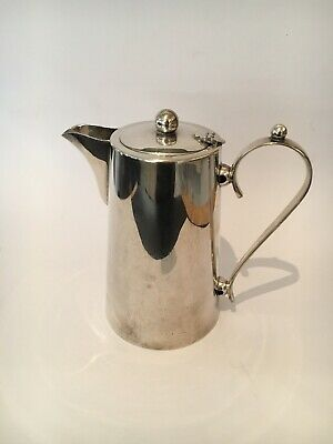 Smart Looking Vintage Mid Century Tea Coffee Pot Perfection Silver Plated