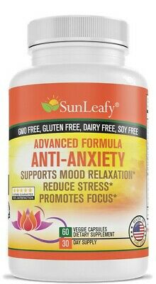 Anti Anxiety – Natural Herbal Ingredients – Capsules – Made in USA