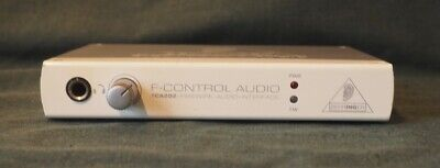 Behringer FCA202 F-Control Audio Interface Firewire 24bit 96kHz 2in 2out