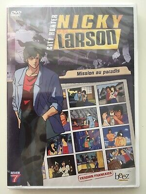 Nicky Larson (City Hunter) volume 12 DVD NEUF SOUS BLISTER