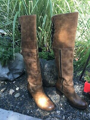 f9a1d8fbb9f FREEBIRD BY STEVEN Madden 'Rolls' leather boot MSRP $395 Size 10