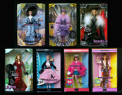 Great Fashions Barbie Doll Nifty Fifties 50's Peace & Love 70s Groovy 60's Lot 7