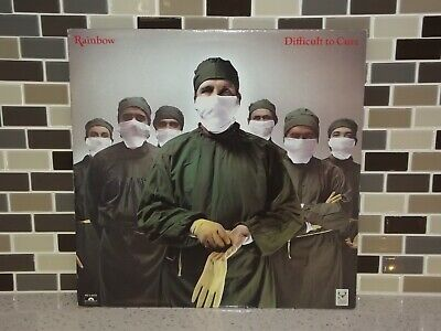 Difficult To Cure Rainbow  LP Vinyl Turntable Record PD-1-6316