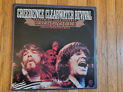 Creedence Clearwater Revival Chronicle 20 Greatest Hits Ex Vinyl Lp Ex Gatefold