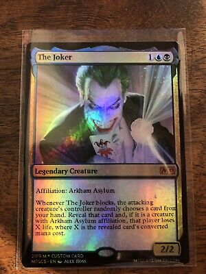 Bruce Wayne The Joker Batman Marvel Magic The Gathering MTG card Planeswalker