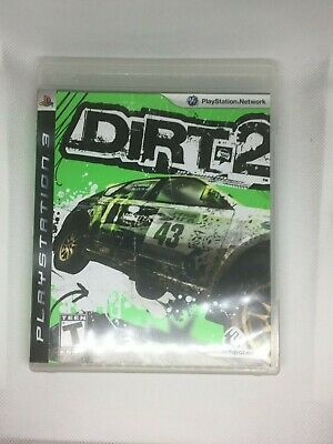 DiRT 2 (Sony PlayStation 3, 2009) FREE SHIPPING Complete CIB TESTED