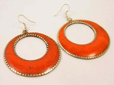 Awesome Coral .925 Silver Plated Handmade Designer Earring Jewelry NJ808