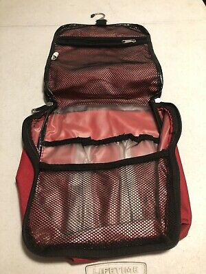 Embark Travel Bag Red Toiletry Bag Traveling Bag Red aa61