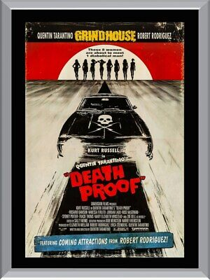 Death Proof A1 To A4 Size Poster Prints