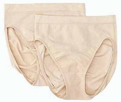 MAIDENFORM Go To Seamless 2 Nude Control Shaping Brief Panty Womens S M L XL 3XL