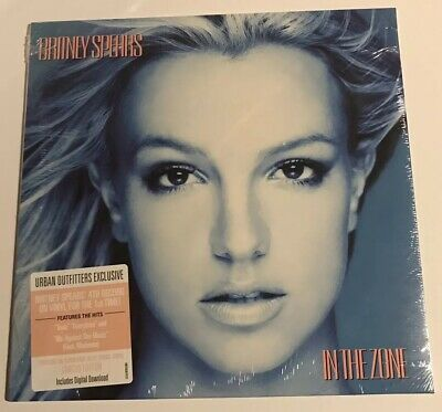 NEW & SEALED Britney Spears - In the Zone LP BLUE-SWIRLED WHITE Vinyl UO /5,000