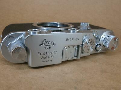 Leitz Leica Ic converted to IIIf Black Dial 1951