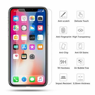 Iphone X XS MAX XR 6 7 8 plus Tempered glass scratch resist screen protector