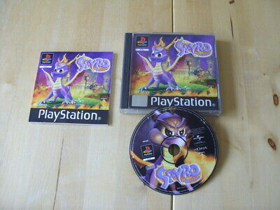 Spyro: The Dragon (Sony PlayStation 1, 1998) PS1 - FREE UK P&P
