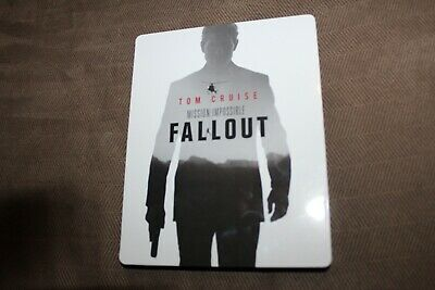 Mission: Impossible Fallout Steelbook (4K ULTRA HD+Blu-ray)