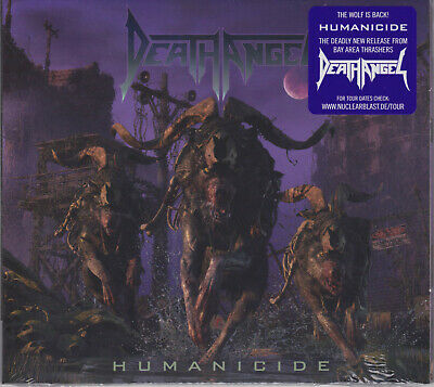 DEATH ANGEL 2019 CD - Humanicide +1 (Ltd. Digi.) Testament/Exodus/Megadeth - NEW
