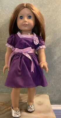 American Girl Doll Molly Emily Retired Meet Outfit Accessories Scrapbook ONLY