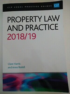 CLP Legal Practice Guides Property Law And Practice 2018/19