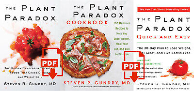 The Plant Paradox by Dr. Steven R Gundry M.D. P.D.F (ALL 3)⚡️fast delivrey⚡️