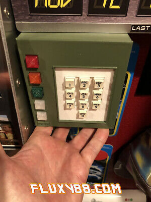 "DeLorean Time Circuits Keypad  ""Back to the Future"""