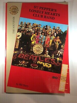 Beatles Sgt Peppers Lonely Hearts Club Band 20th Anniversary Photo Book