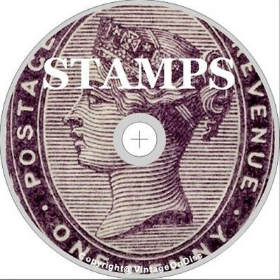 Stamps 220 Books on DVD Rom