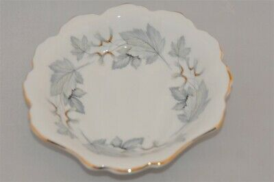 Royal Albert Silver Maple Clam Shaped Mint Dish ( 2 Available )