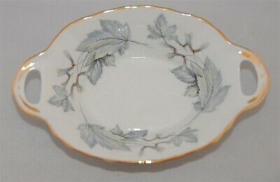 Royal Albert Silver Maple 2 handled Serving Candy / Mint Dish.