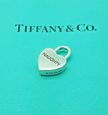 20286b77ff2df TIFFANY & CO Naughty Nice Charm with Bracelet, Authentic & Rare, 925 ...