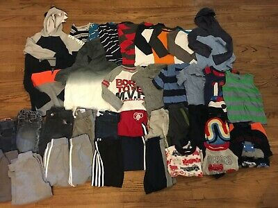 40 Piece Boys Clothing Lot Size 4T Gymboree Children's Place Carter's Old Navy