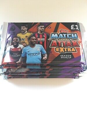 X12 Packs Of Topps Match Attax Extratrading Cards Premier League 2018/2019