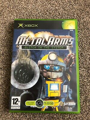 METAL ARMS GLITCH In The System Game Sony PS2 (PAL) Complete With