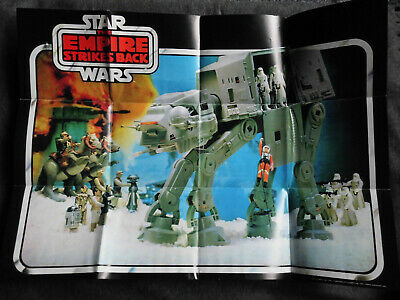 Star Wars Empire Strikes Back - Werbeflyer POSTER  - 1982 Palitoy  AT AT
