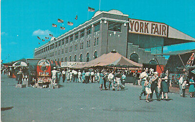 York Fair York Pennsylvania Postcard 1960's
