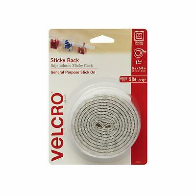 VELCRO Brand - Sticky Back Hook and Loop Fasteners| Perfect for Home or Office