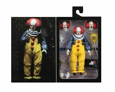 """*BOX DAMAGE** IT (1990) - 7"""" Scale Action Figure - Ultimate Pennywise v.2 - NECA"""