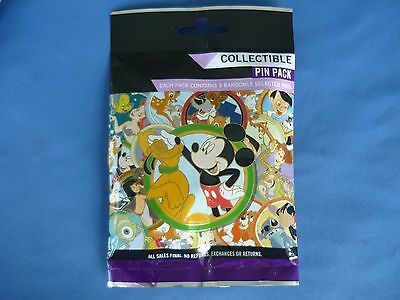 Disney 5-pin Collectible Mystery Pin Pack BEST FRIENDS New /& Sealed