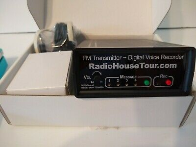 RADIO HOUSE TOUR Broadcaster FM Broadcaster / Transmitter Marketing Tool