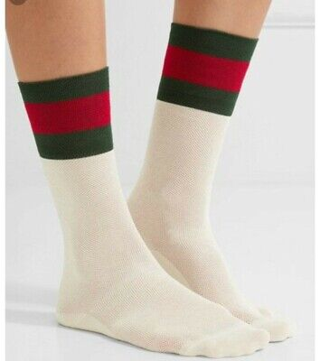 Gucci socks. Red and Green web. Brand New