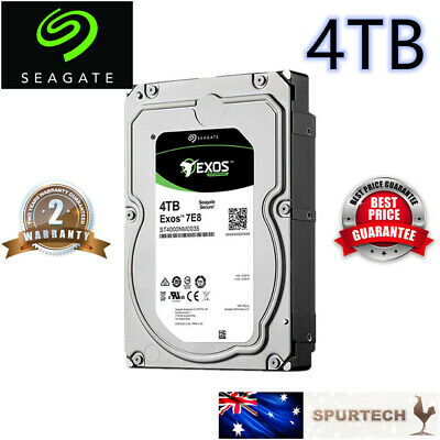 "New Seagate Exos 7E8 Enterprise NAS 3.5"" 4TB 7200RPM Hard Drive 128MB"