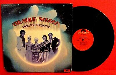 CREATIVE SOURCE~LOT OF 2 LPs Promo R&B Soul Funk FREE SHIPPING