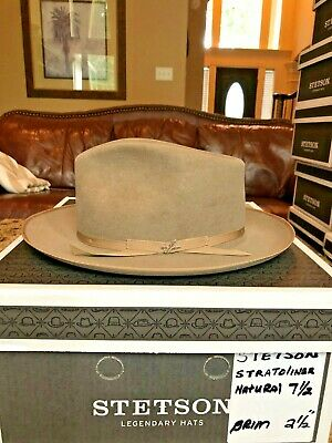 AUTHENTIC VINTAGE FELT Royal DeLuxe Homberg Stetson Fedora