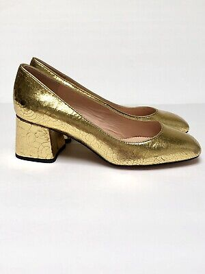 8730874fe21 J.CREW SUEDE METALLIC Gold Thong Strappy Heel Sandals Made in Italy ...