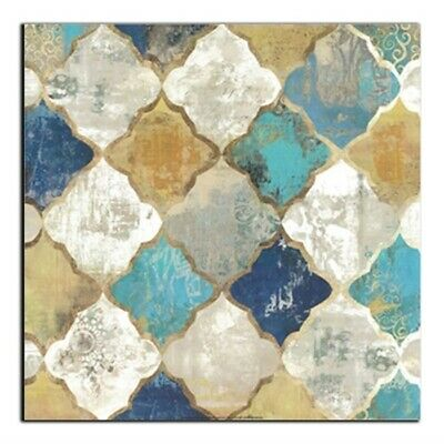 Modern Canvas Color Marble Stone Mosaic Texture Paintings Poster  Home Decor