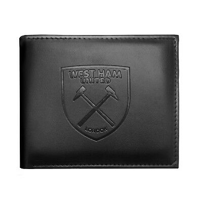 West Ham United FC Official Football Gift Embossed Crest Money Wallet